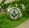 Masonic Ring white