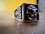 Triable Totenkopf Ring