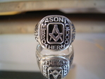 Masonic Brotherhood Ring