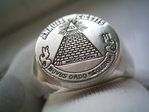Masonic Ring ( Dollar Note )