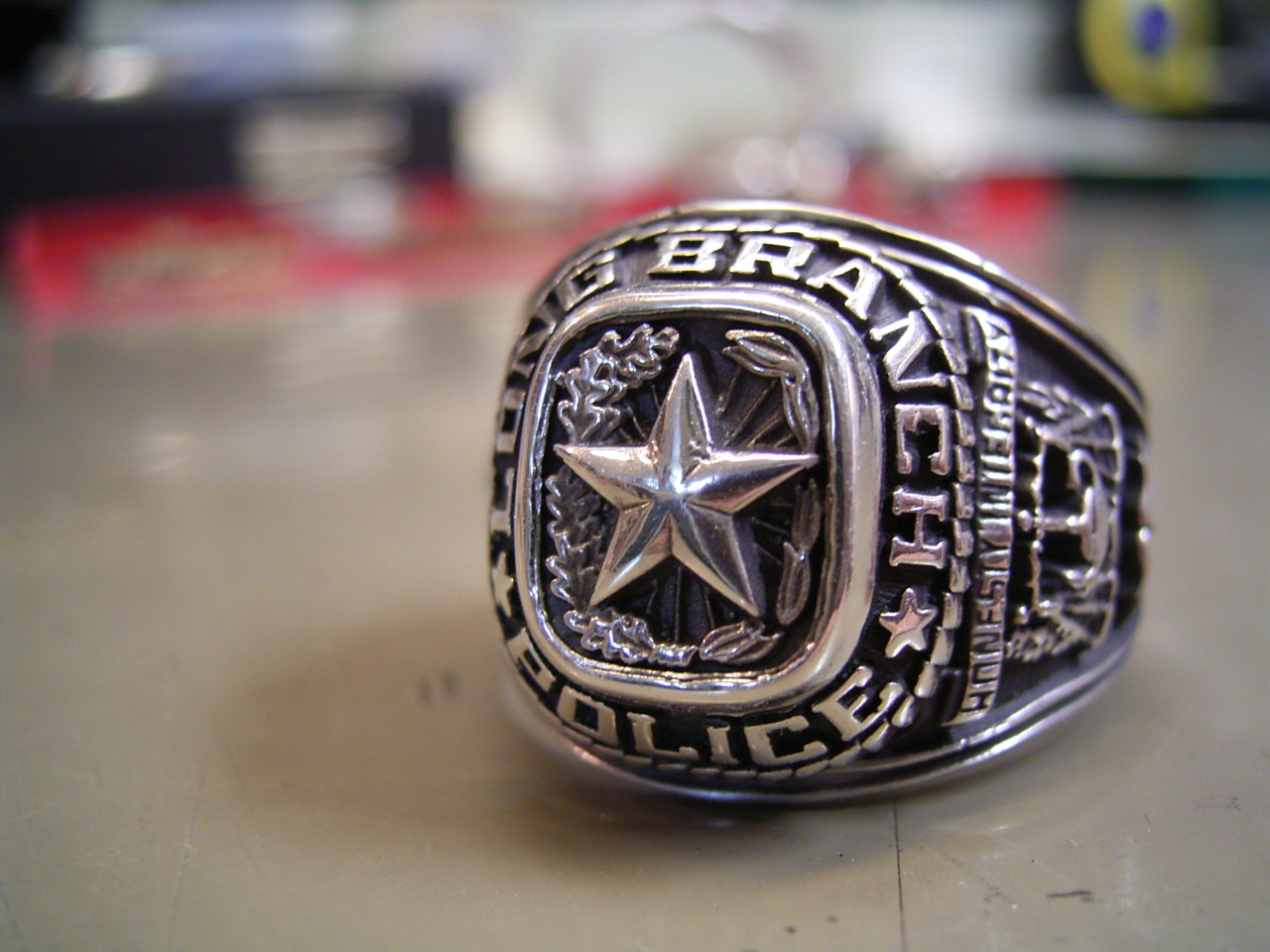 texas police ring