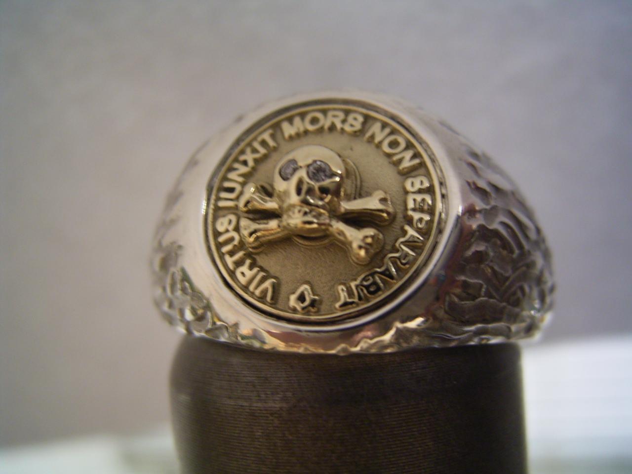 gold silver masonic ring bodenseeschmiede