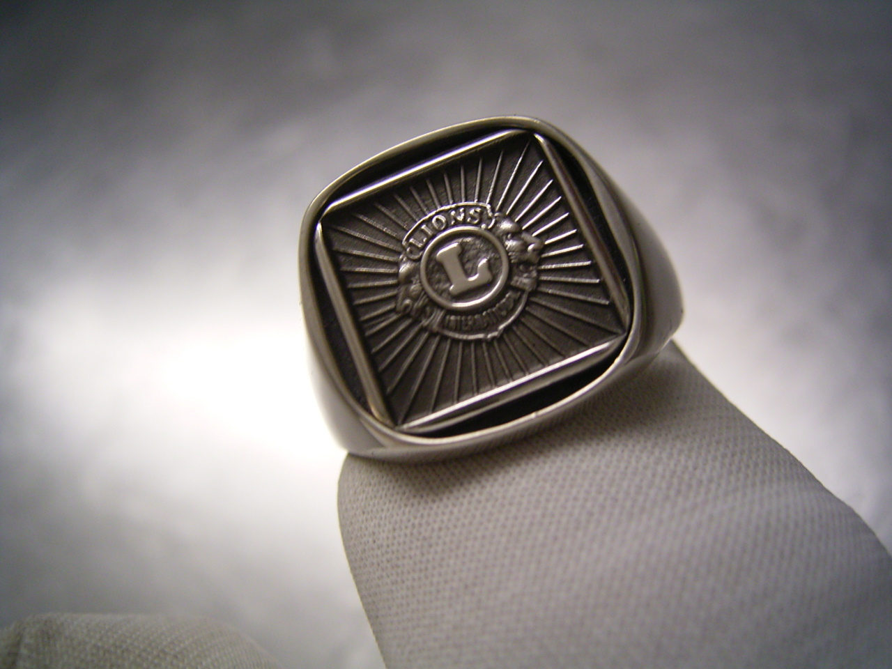 products thumbnail club brothers mens silver ring mc rings maddog store keepers online original