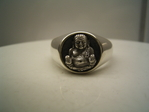 China Buddha Ring