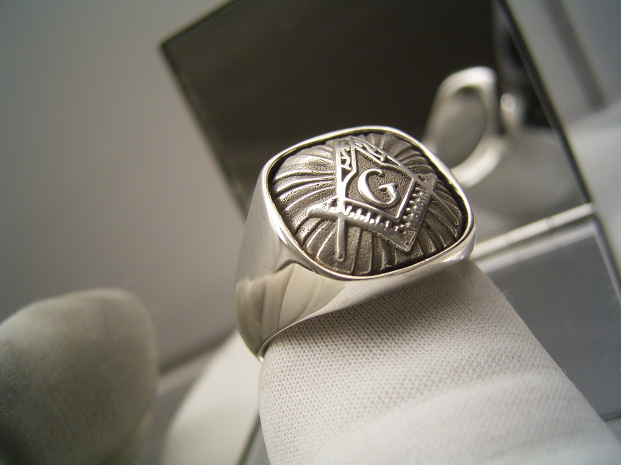 masonic rings silver images