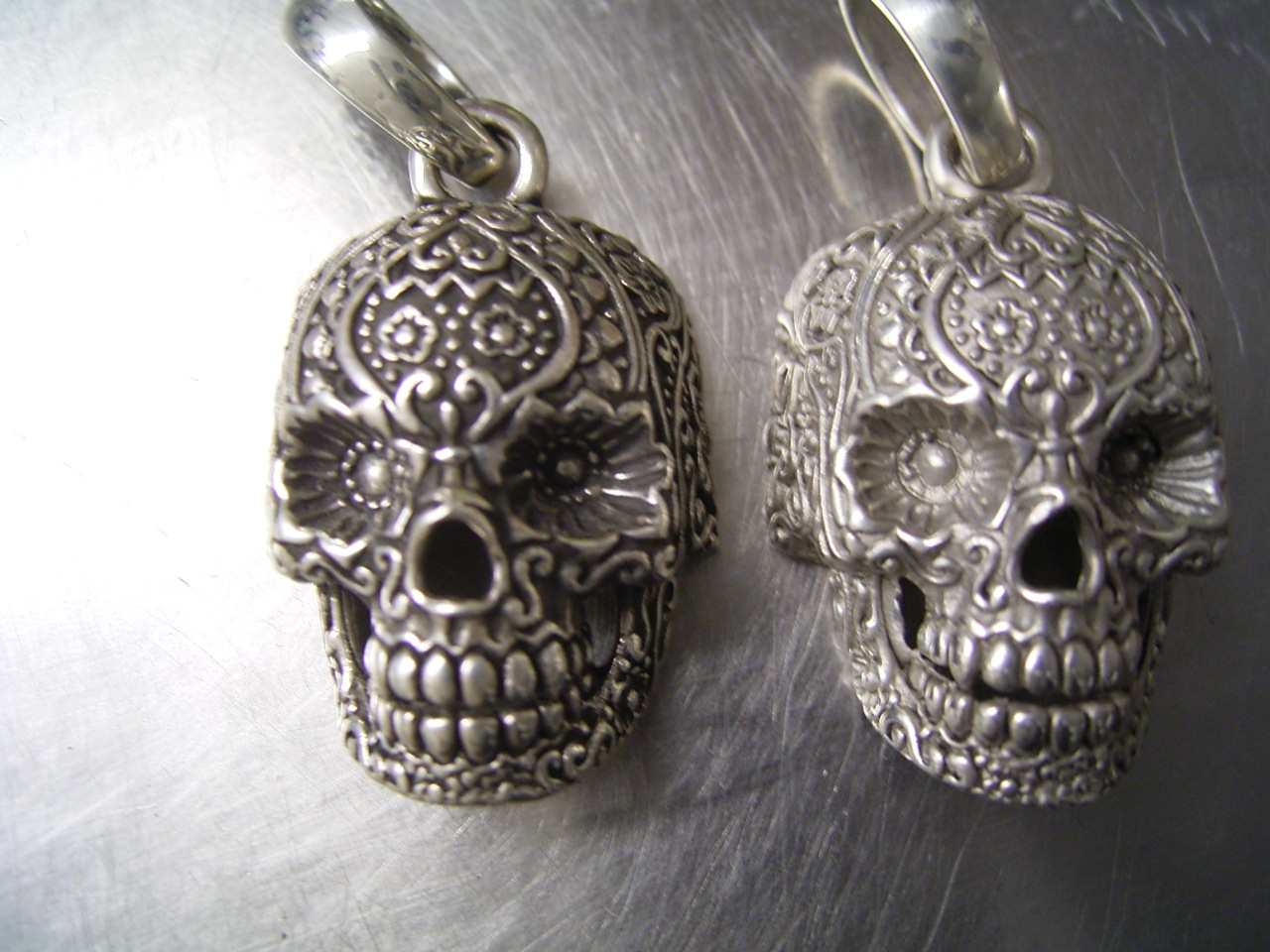 skull sugar jewelry controse pendant the floral necklace products