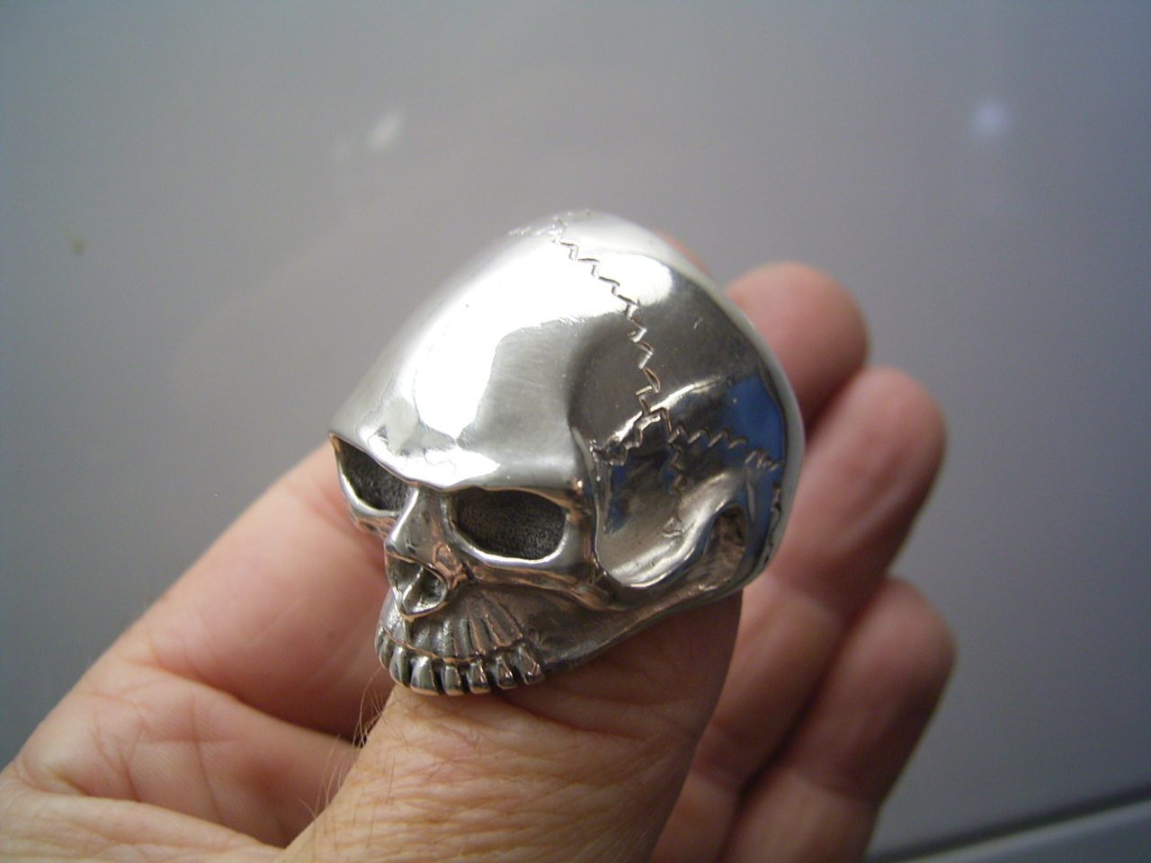 Keith Richard Skull Ring Bodenseeschmiede